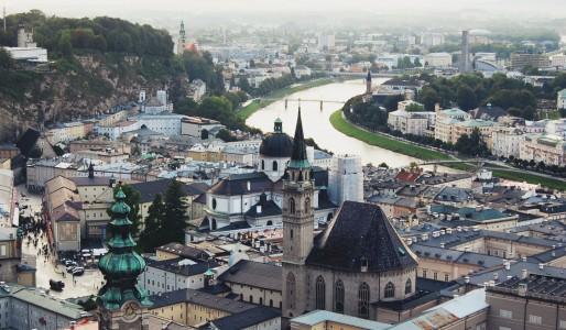 Salzburg – na rowerze w Austrii