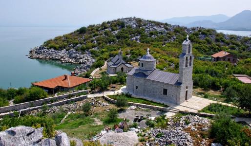 Wyspa Beska Czarnogora