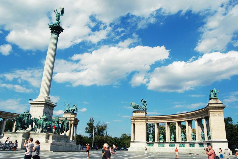 Plac Bphaterów Budapeszt