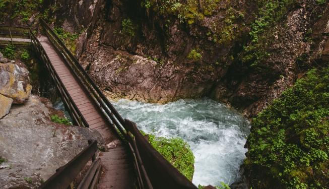 Cascate di Stanghe – wodospady w marmurze