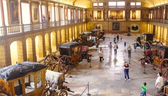 Muzeum powozów w Lizbonie