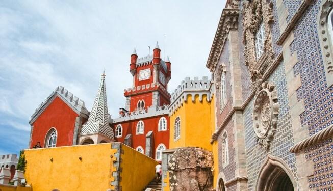 Sintra – kolorowy Pałac Pena
