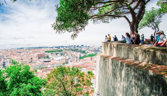 Miradouros w Lizbonie – tarasy z widokiem na miasto