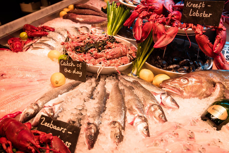 Co zje w amsterdamie najlepsze restauracje for Seafood bar van baerlestraat