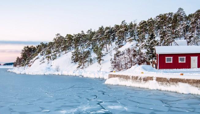 Zimowe Åland