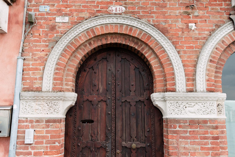 wenecja drzwi