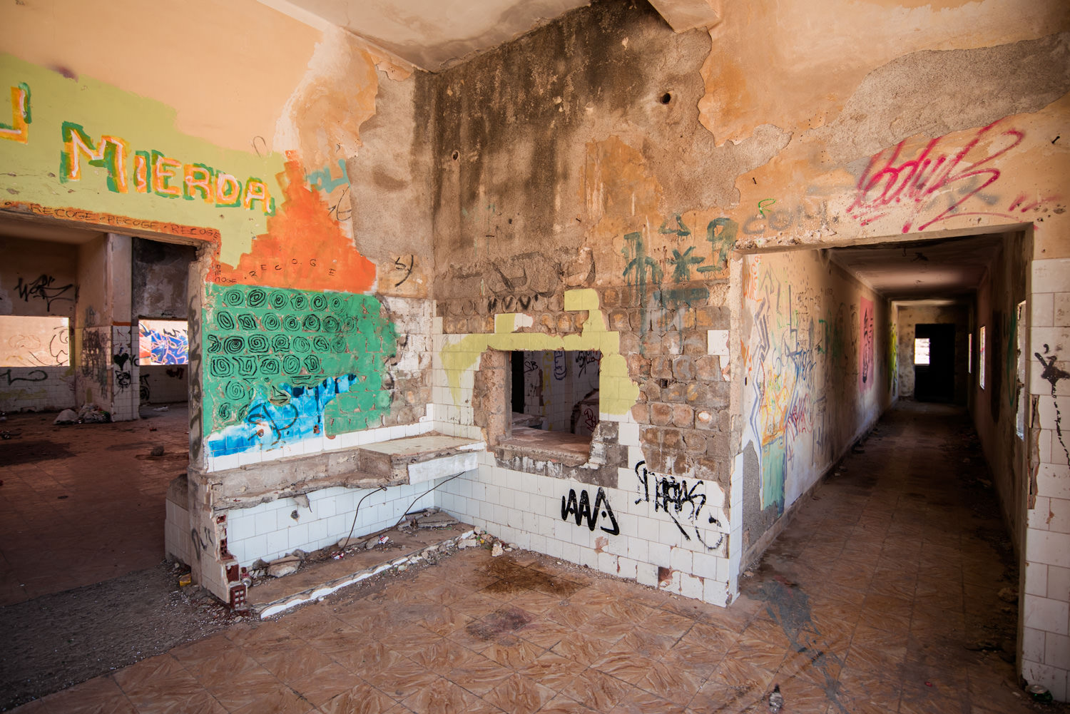 abades opuszczony budynek