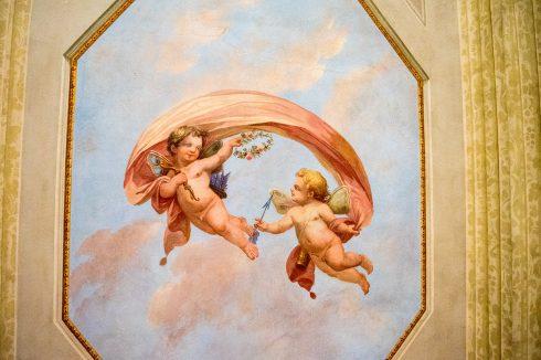 freski w airbnb florencja