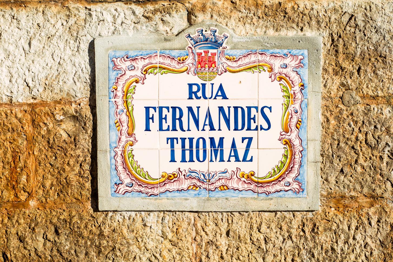 nazwy ulic portugalia