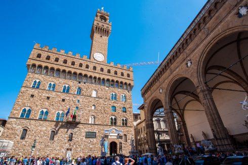 piazza signori we florencji