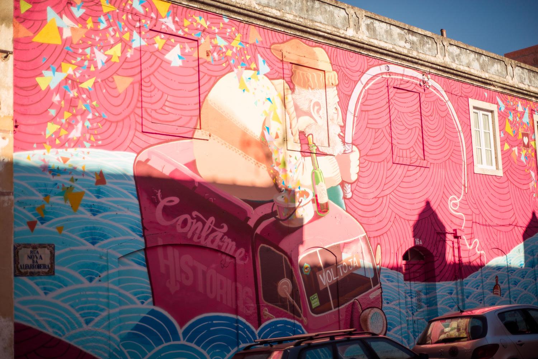 street art w cascais