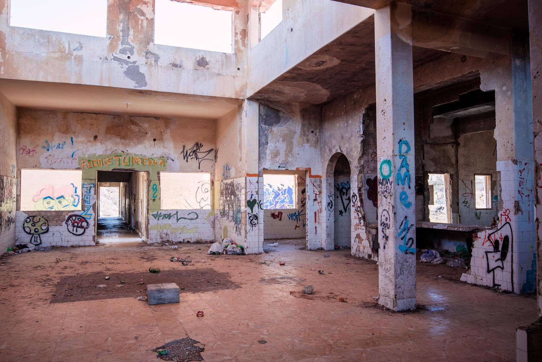 szpital opuszczony