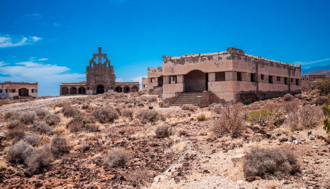 Sanatorio de Abona – opuszczona wioska trędowatych na Teneryfie