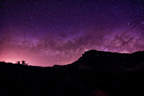 gwiazdy wulkan teide