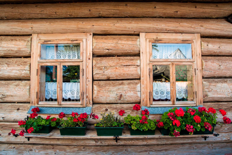 chocholow drewniane domy