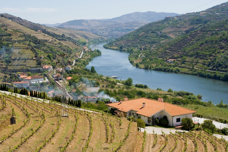 Dolino Douro w Portugalii