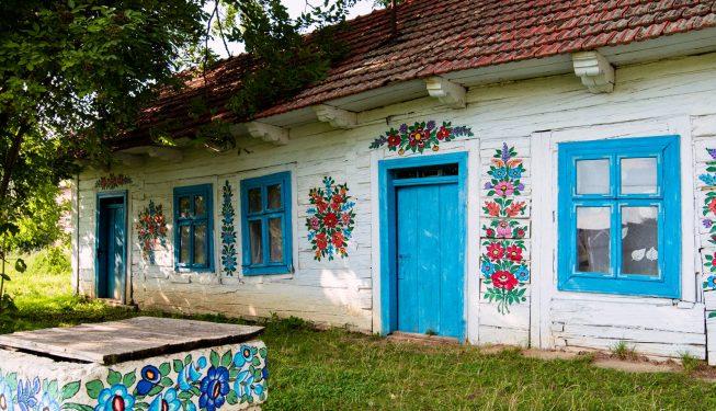 Czy to jest najpiękniejsza polska wieś? Malowane Zalipie