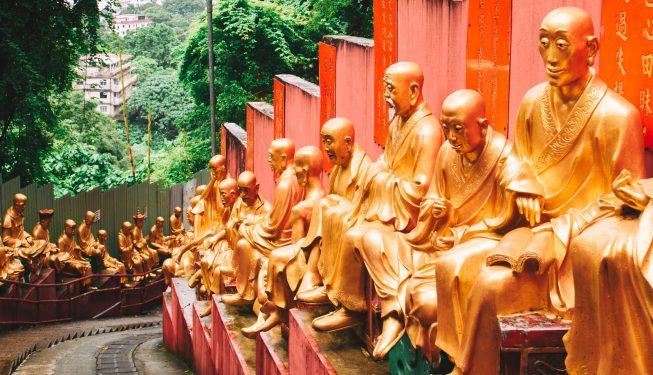 Miejsce, dla którego warto pojechać do Hong Kongu: Klasztor 10 tysięcy Buddów