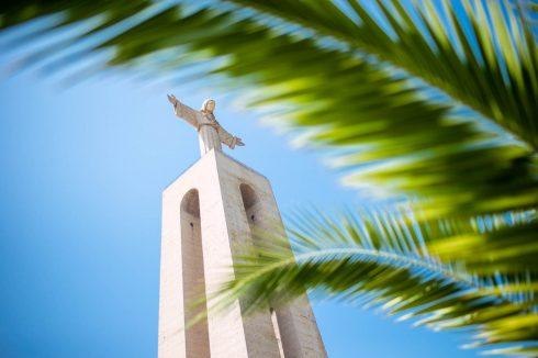 Christo rei jezus w Lizbonie