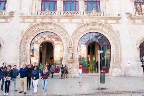Dworzec Rossio w Lizbonie