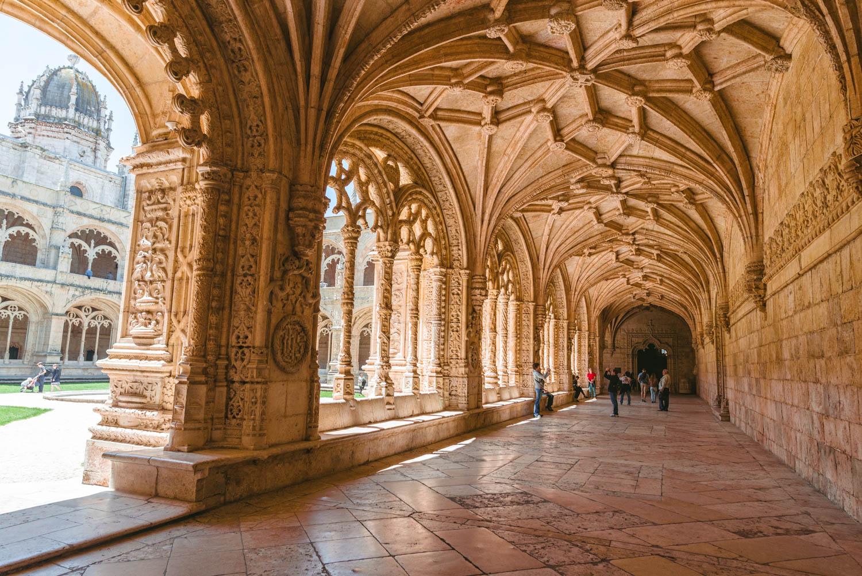 Klasztor Hieronimitów Lizbona Belem