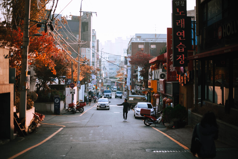korea-ulice