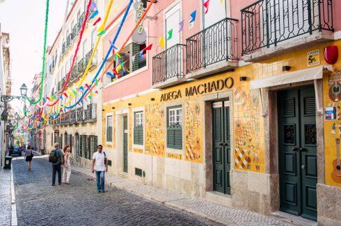 ulica w Bairro Alto