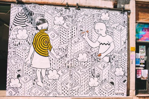 mural w Lx Factory