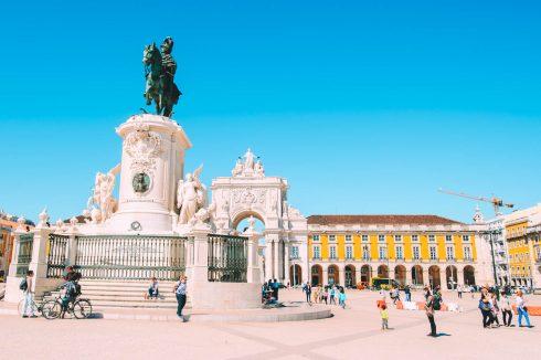 Praca do Comercio Lizbona