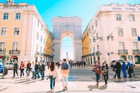 Rua Augusta Lizbona
