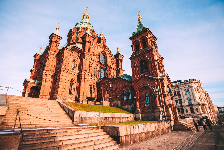 Sobór prawosławny w Helsinkach