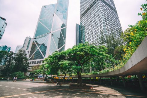 dzielnica central w hong kongu