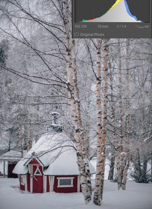 zdjecie zimowe Finlandia