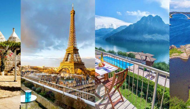 20 wyjątkowych AirBnb na miesiąc miodowy w Europie