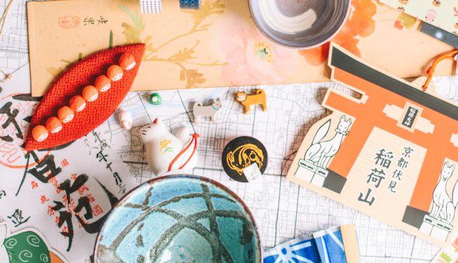 Porcelanowe koty i tysiące naklejek, czyli pamiątki które przytargałam z Japonii