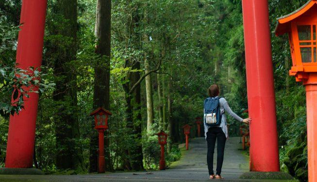 Japonia. Hakone. Najpiękniejsze miejsce, jakie odwiedziłam